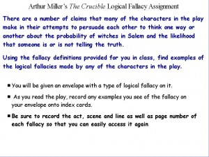 fallacy assignment